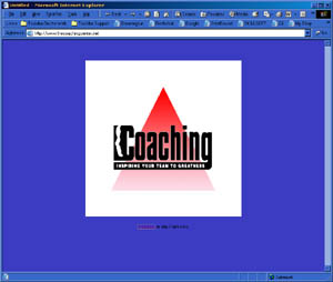 Web Development Portfolio - The Coaching Center